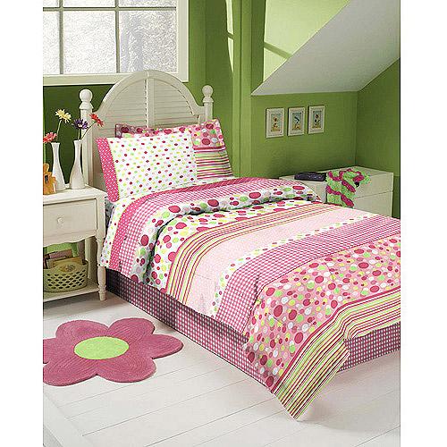 Gingham Garden Bed in a Bag Bedding Set
