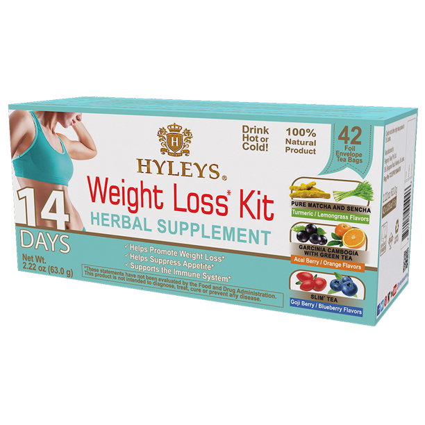 Hyleys 14 Day Weight Loss Kit 42 Count Variety Walmart Com