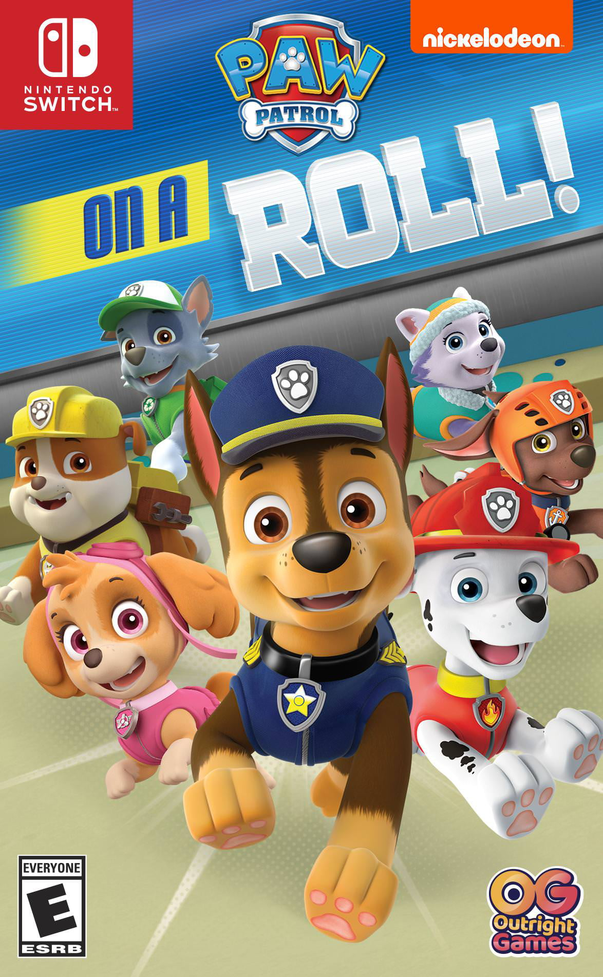Paw Patrol On a Roll, Nintendo Switch, Outright Games, 819338020204
