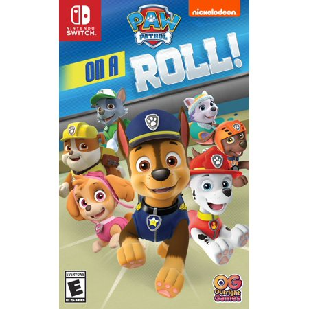 Paw Patrol On a Roll, Nintendo Switch, Outright Games, 819338020204 (Swish Card Game)