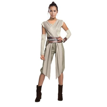Rubies Star Wars The Force Awakens Women's Deluxe Adult Rey - Star Wars Costume Hoodie