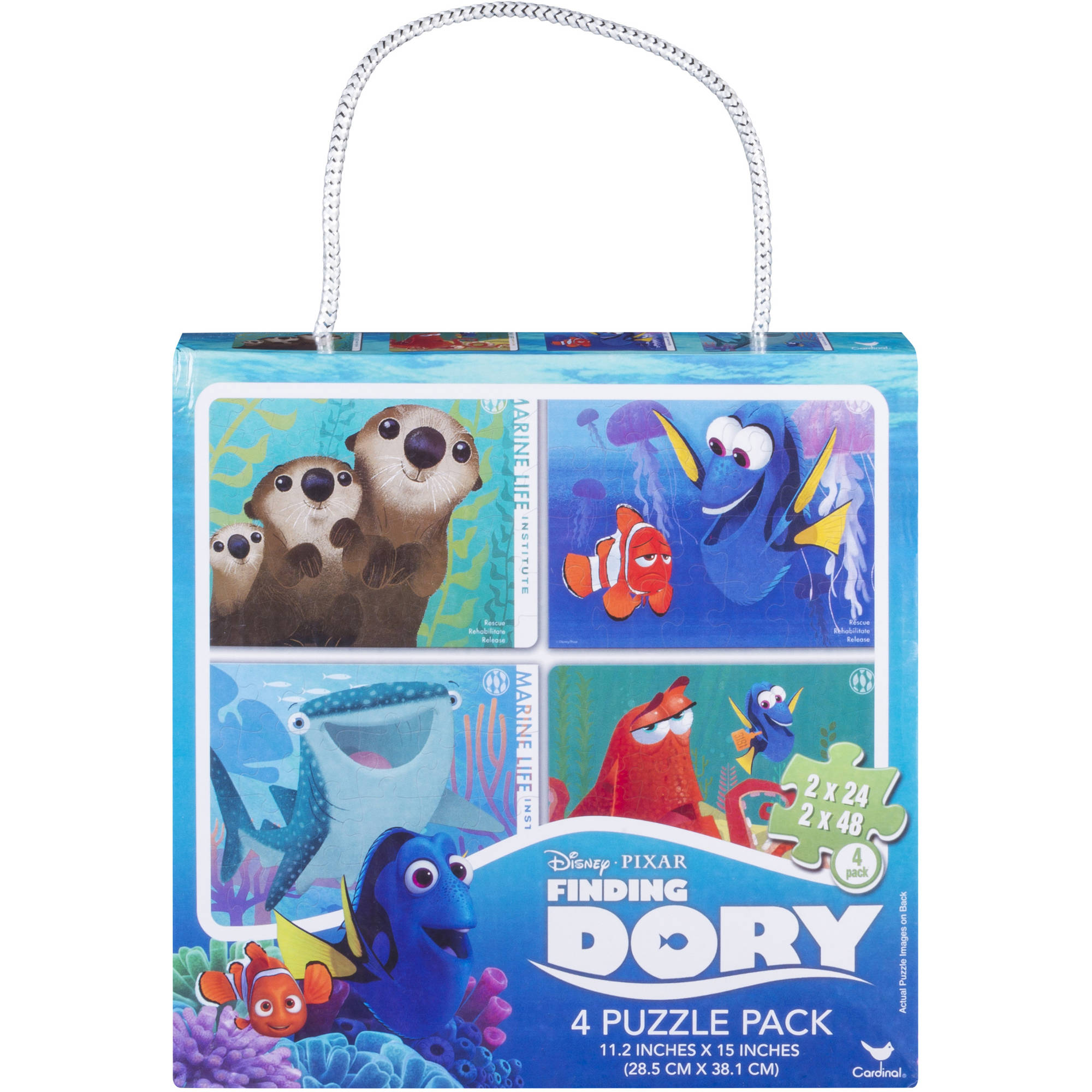 Disney Finding Dory Puzzle Set, 4-Pack