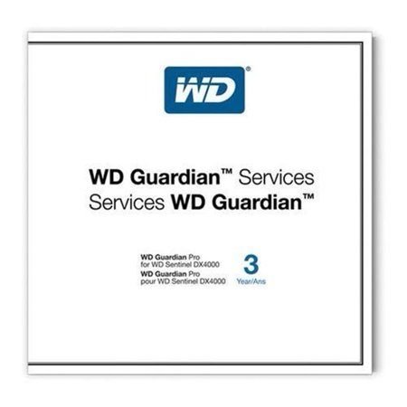 WD Guardian Pro - 3 Year - Service - Replacement - Parts - Physical Service