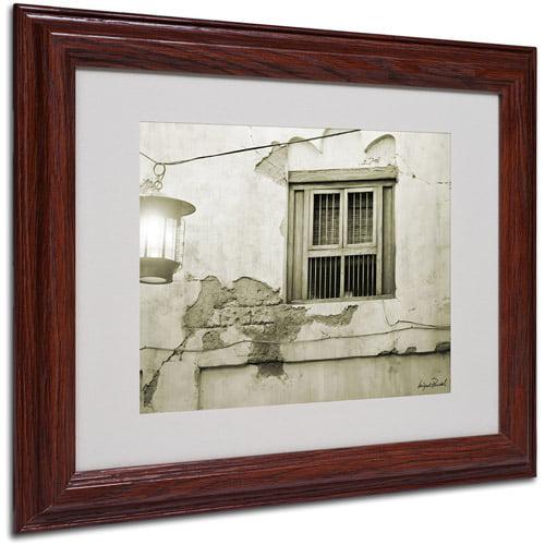 "Trademark Fine Art ""Window"" Matted Framed Art by Miguel Paredes"