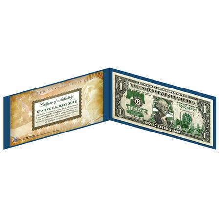 PENNSYLVANIA State $1 Bill *Genuine Legal Tender* US One-Dollar Currency