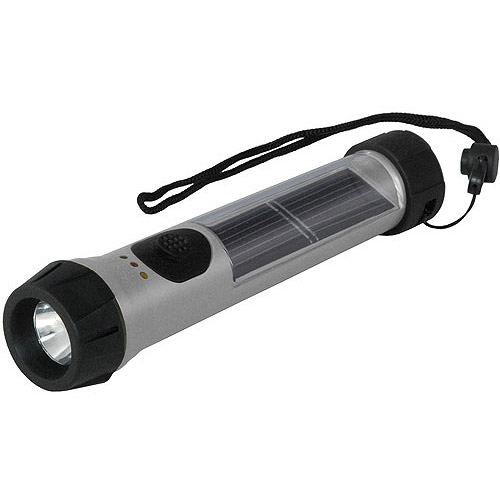Hybrid Light Solar Hybrid Flashlight, 40 Lumens