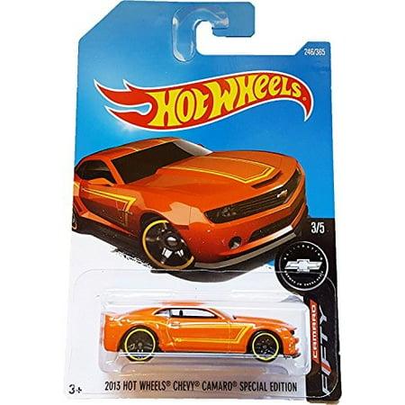 Hot Wheels 2017 Camaro Fifty 2013 Hot Wheels Chevy Camaro Special Edition  246/365, Orange