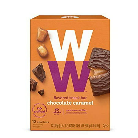 - Weight Watchers Chocolate Caramel Mini Bar New WW
