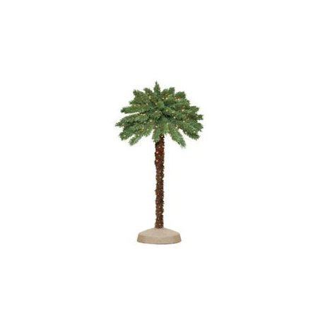 Palm Tree With Lights, 4 ft.