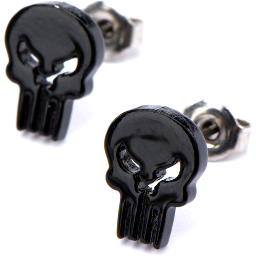The Punisher Stud Earrings