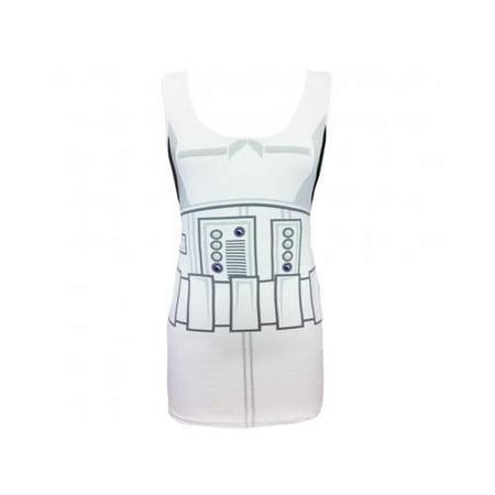 Star Wars I Am Storm Trooper Costume Adult Tank Dress Medium (Storm Trooper Costume Adult)