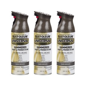 Rust Oleum Stops Rust Hammered Brown Spray Paint 12 Oz Can