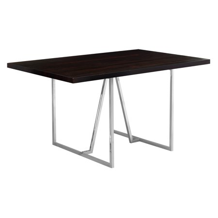 Monarch Specialties 60 In Rectangular Dining Table
