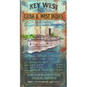 Red Horse Arts Key West Charters Vintage Advertisement Plaque