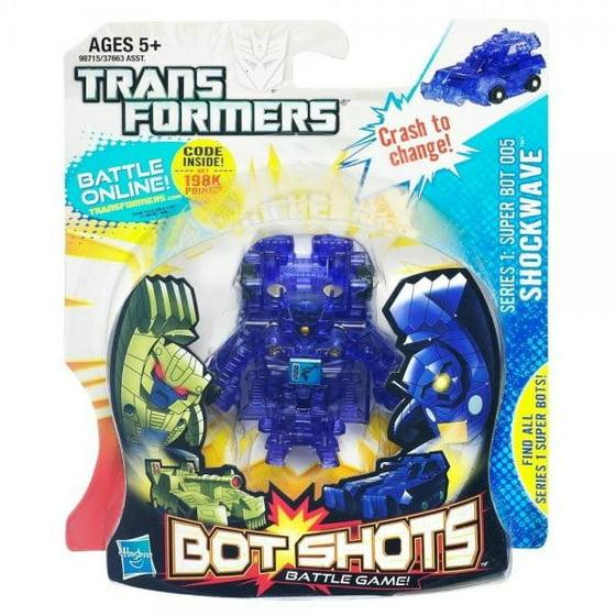 Transformers Bot Shots Series 1 Super Bot Shockwave Battle Game Figure