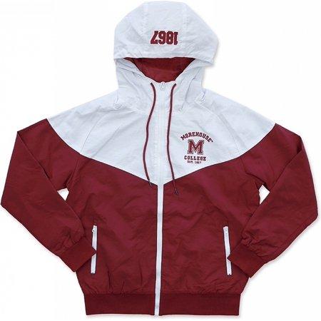 Big Boy Morehouse Maroon Tigers S4 Mens Windbreaker Jacket [Maroon - 2XL] (Maroon Coat)