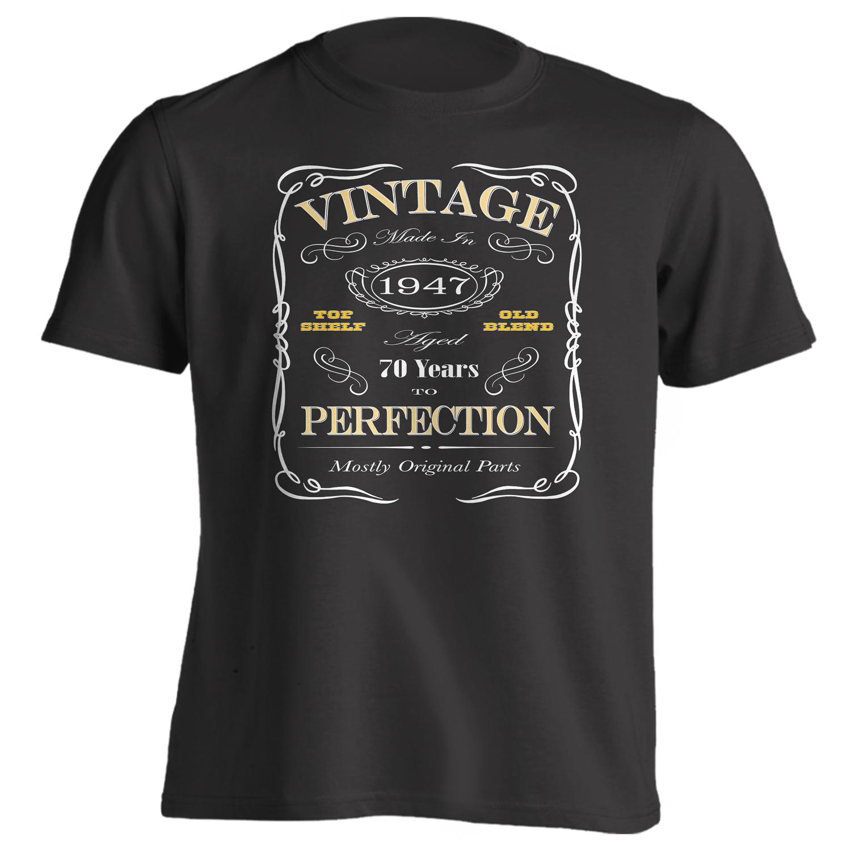 70th Birthday Gift T-Shirt - Born In 1947
