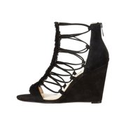 Jessica Simpson Womens Beccy Leather Open Toe Special Occasion Strappy Sandals