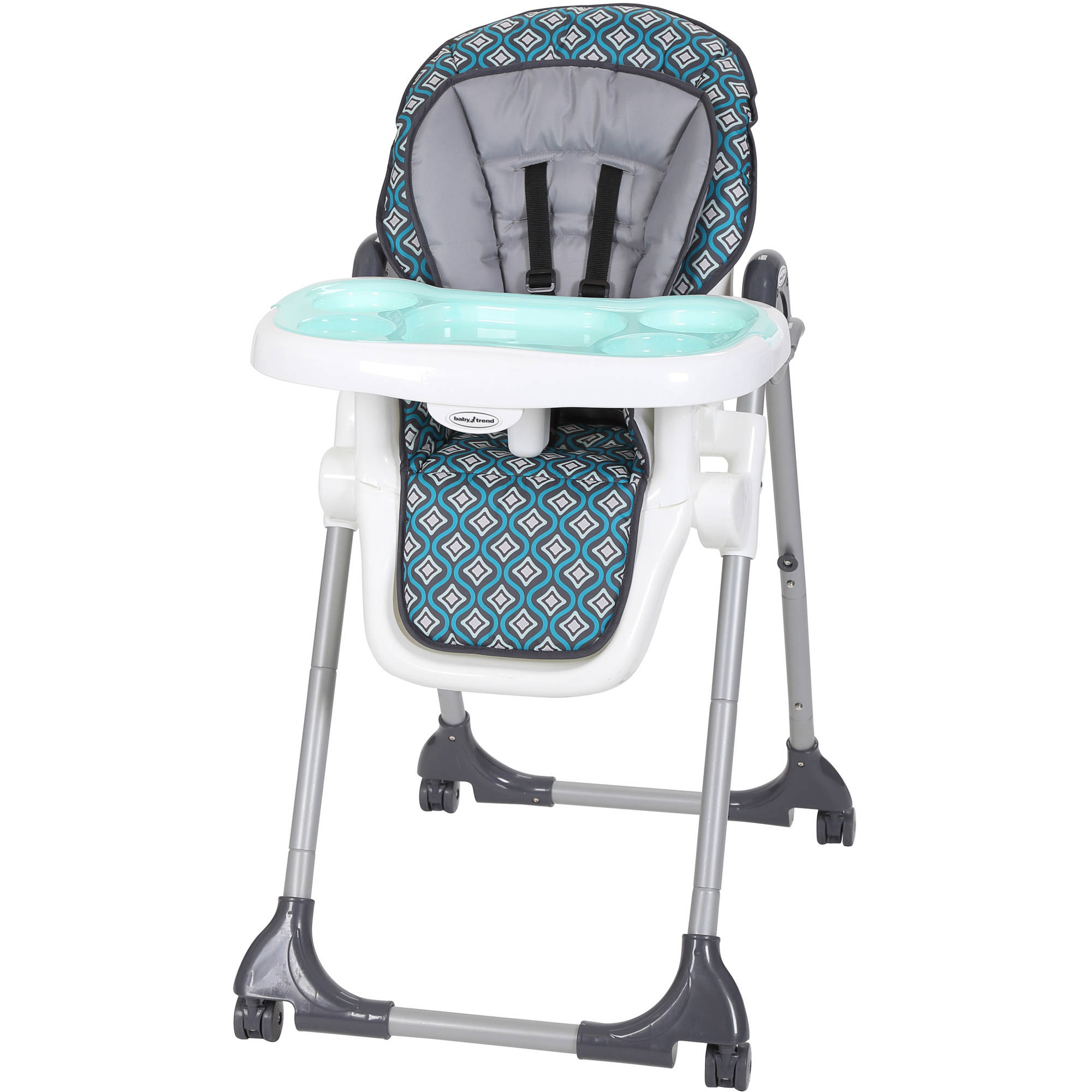 Baby Trend Deluxe 2 in 1 High Chair Diamond Wave Walmart
