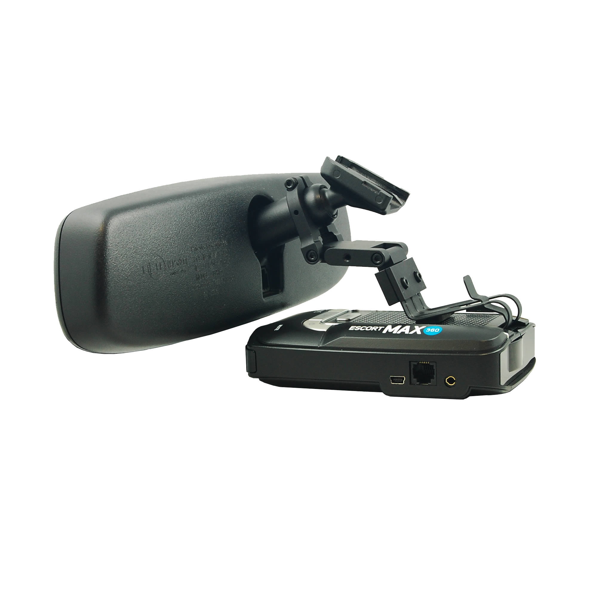BlendMount BMX-2000R Radar Detector Mount for Escort Max/Max2/Max 360, Compatible
