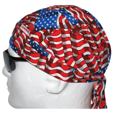 Comeaux Caps Stars and Stripes Doo-Rag