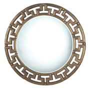 Sterling Fairview Darthmouth Gold Mirror - 30 diam. in.