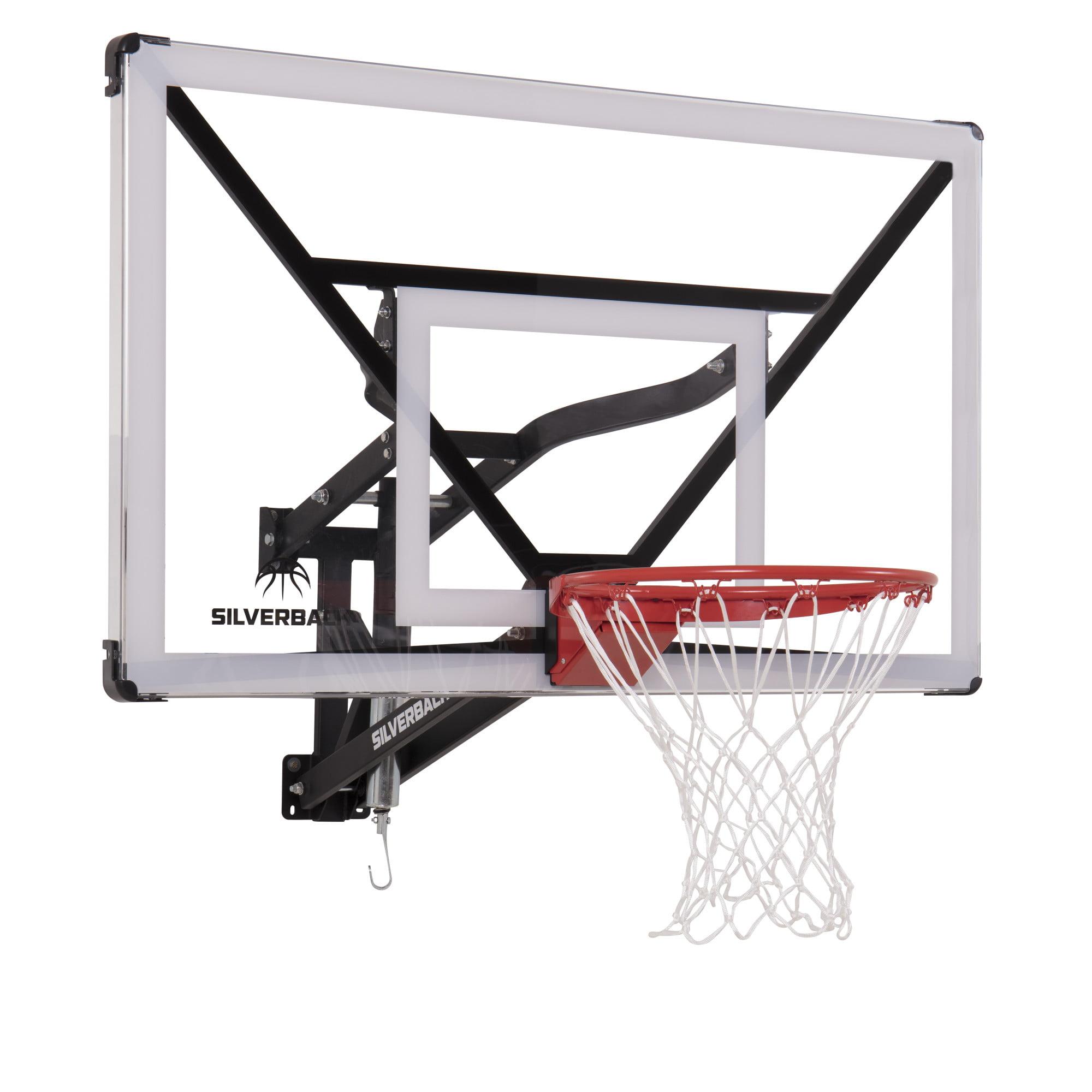 "Silverback NXT 54"" Wall Mounted Adjustable Basketball Hoop"