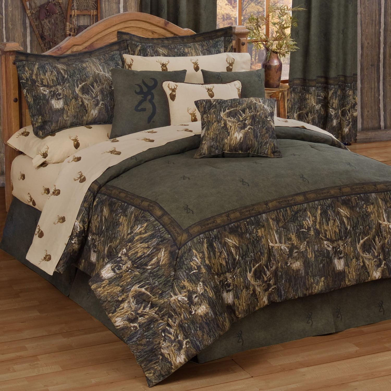 Browning Whitetails - Comforter Set - King