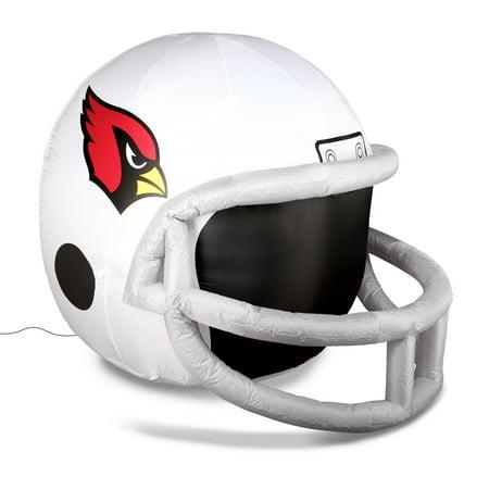 NFL Arizona Cardinals Team Inflatable Lawn Helmet, White, One Size