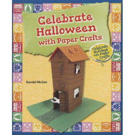 Celebrate Holidays with Paper Crafts: Celebrate Halloween with Paper Crafts (Paperback)](Halloween Crafts Out Of Paper)