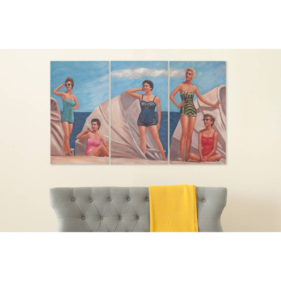 Safavieh By the Sea Triptych Wall Art, Assorted