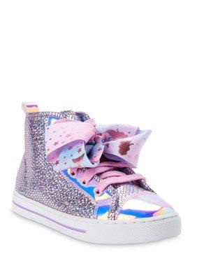 Nickelodeon Jojo Siwa Mermaid Scales High-Top Sneaker (Little Girls & Big Girls)