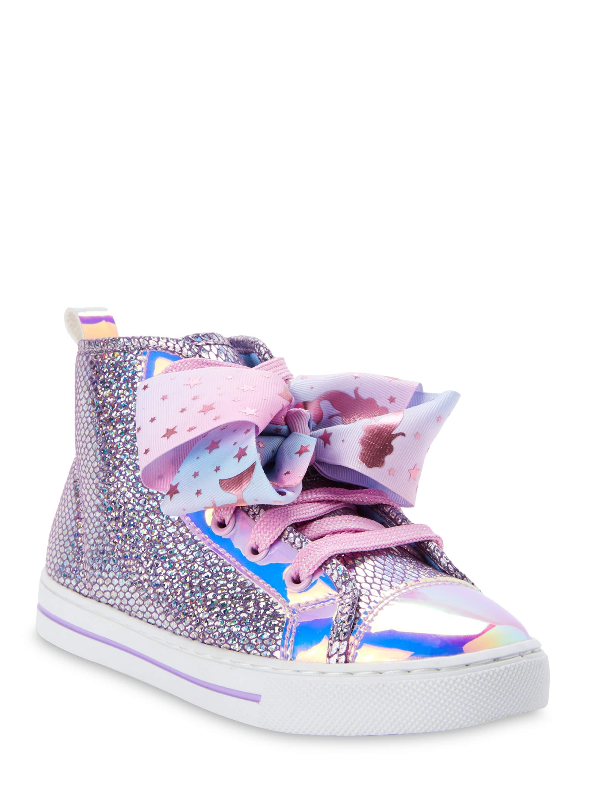 Nickelodeon Jojo Siwa Mermaid Scales High-Top Sneaker! .50 at Walmart!