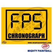 MP - Mighty Products MP-FE-S008 Paintball Safety Sign - Chronograph