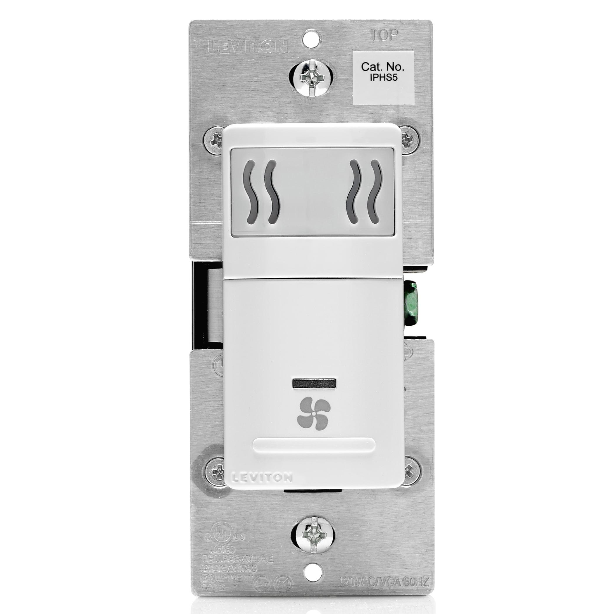 Leviton R02-IPHS5-0LW White Humidity Control Sensor