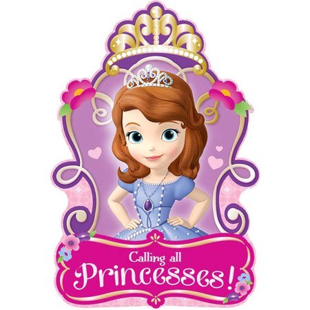 Disney Sofia the First Invitations (8)](Sofia The First Party Invitations)