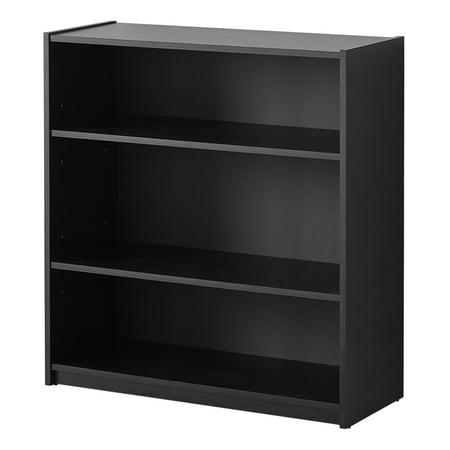 (Mainstays 3-Shelf Bookcase, Multiple Colors)
