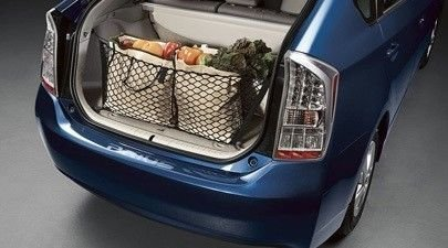 Envelope style trunk cargo net for Toyota Prius V 2012 2013 2014 2015 2016 2017 NEW Trunknets Inc