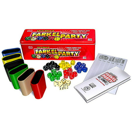 Lets Have A Farkel Party Game (Dinner Party Game)