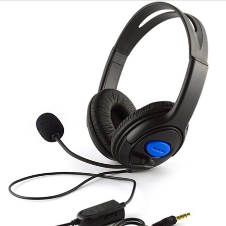 3.5mm Wired Gaming Headphones Over Ear Game Headset Stereo Bass Earphone with Microphone Volume Control for PC Laptop PS4 Smart Phone - image 2 de 6