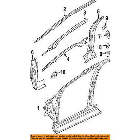 CHRYSLER OEM Pillars, Rocker Floor-Inner Reinforcement