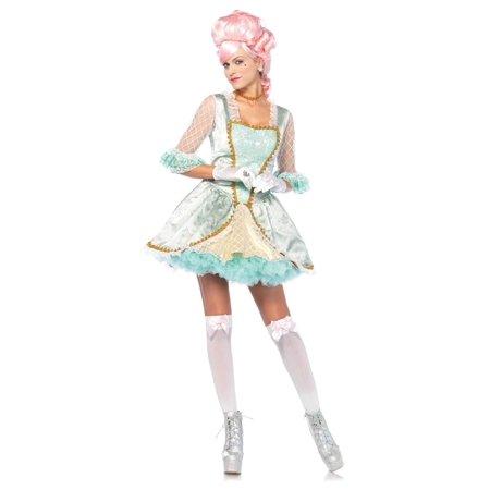 Leg Avenue Deluxe Marie Antoinette Adult Womens Costume (Plus Size Marie Antoinette Costume)