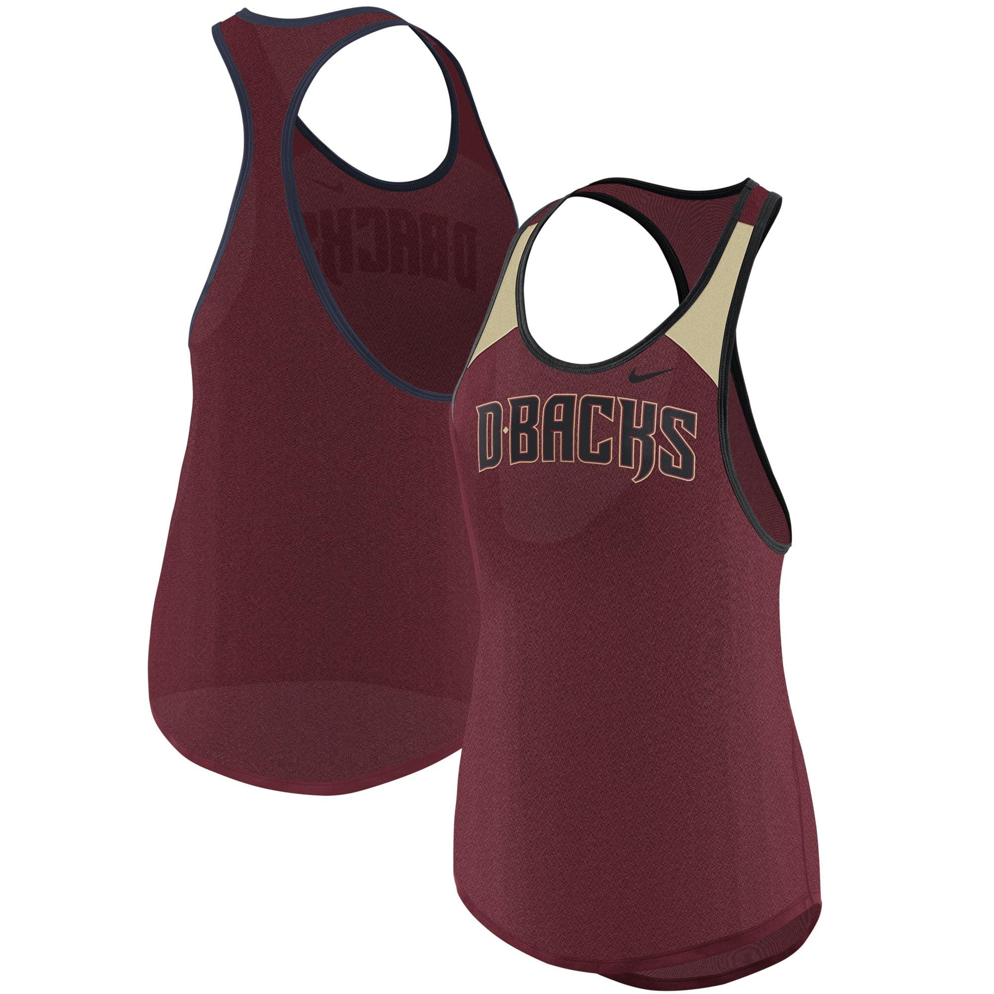Arizona Diamondbacks Nike Women's Wordmark Legend Tank Top - Crimson