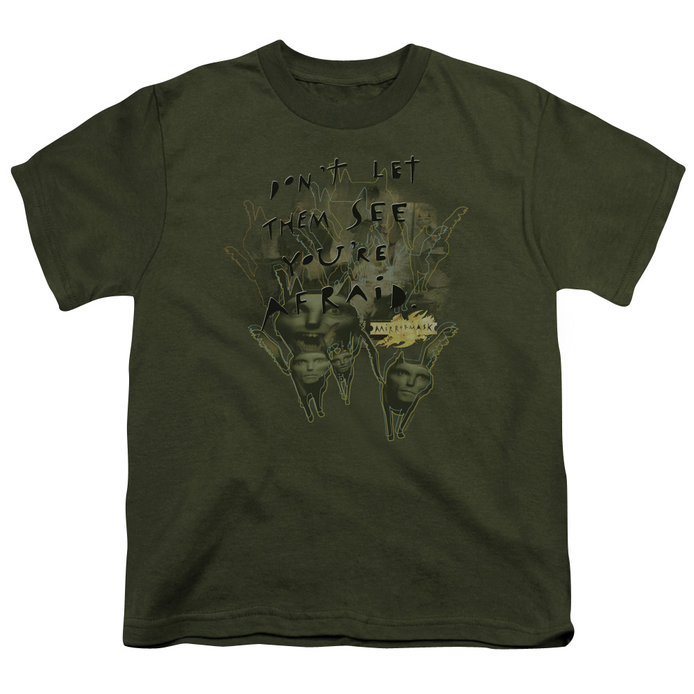 Mirrormask/Don'T Let Them   S/S Youth 18/1   Military Green     Mir104