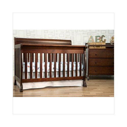Bundle-11 DaVinci Kalani 4-in-1 Convertible Crib with Toddler Rail in Espresso (Set of 2)