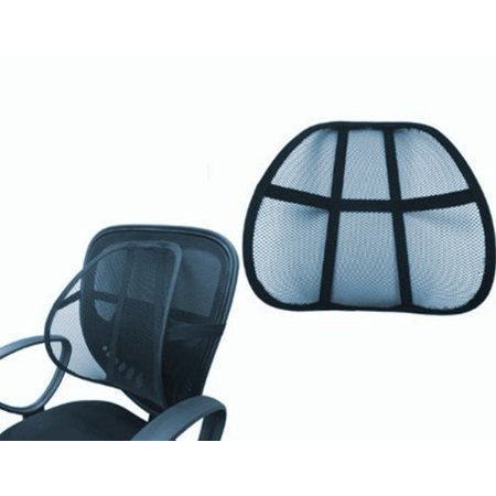 2X Set of 2 Posture Fix Mesh Office Chair & Car Seat Lumbar Back Support