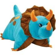"Pillow Pets 18"" Blue Dinosaur Pillow Stuffed Animal Plush Toy Pet"