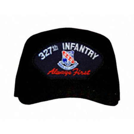 (327th Infantry Division 'Always First' with Patch Ball Cap)