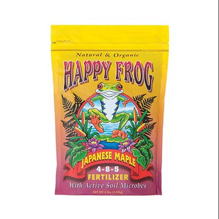 Foxfarm FX14055 Happy Frog® Japanese Maple Fertilizer, 4 Lbs, - Happy Frog Fertilizer
