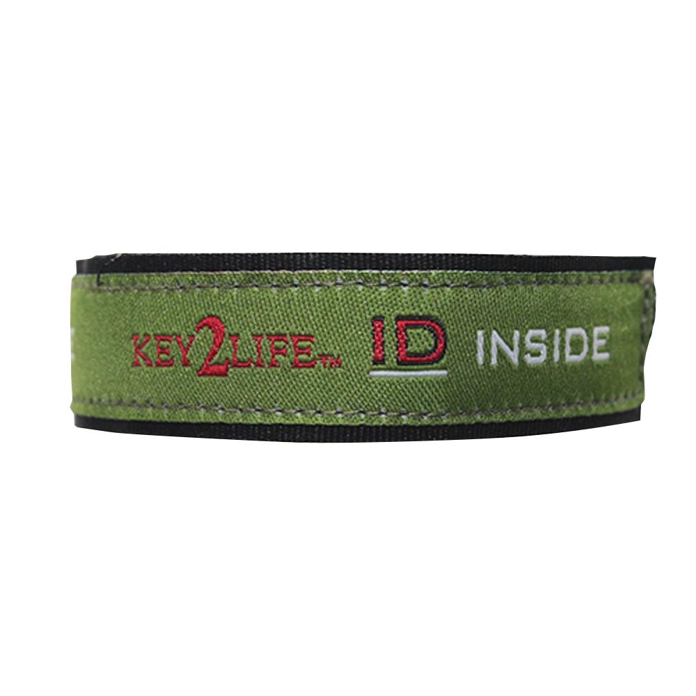 Waterproof EMR Velcro Sport Bracelet by Key2Life Color Green by SGM Key2Life